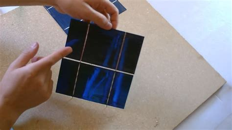 how do you make a solar panel at home how to make a solar panel step solar cell quot tabbing quot how to quot tab quot solar cells tech