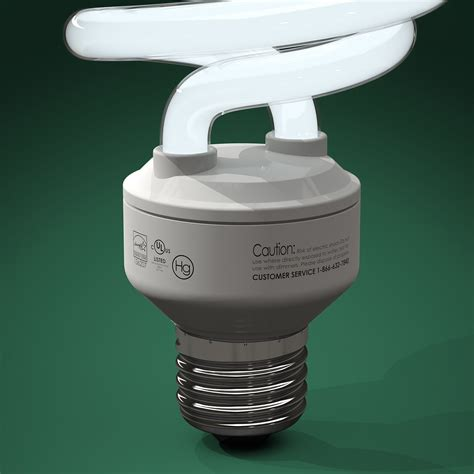 fluorescent light 3d model download free software cfl 3d model free internetquick