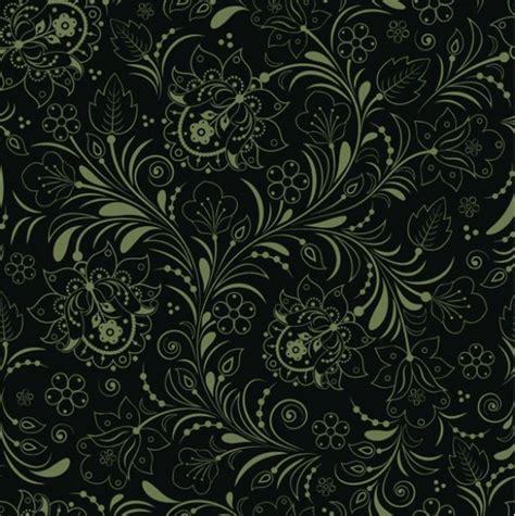 flower pattern green dark elegant green floral seamless pattern welovesolo