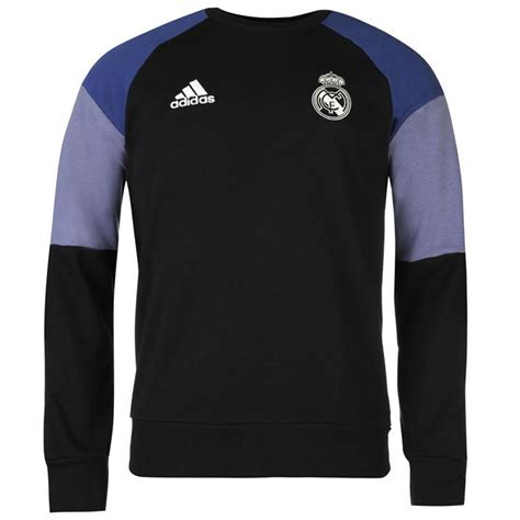 Sweater Real Madrid White 1415 adidas mens real madrid sweater football blouse pullover sleeve crew neck ebay