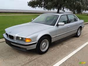 arctic silver metallic 1998 bmw 7 series 740il sedan