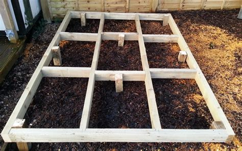 Shed Bases Uk by Shed Base Stewart Timber Scotland S Premier Timber