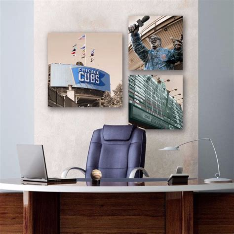 Chicago Office Products by Chicago Cubs Office Canvas Set Chicago Products And