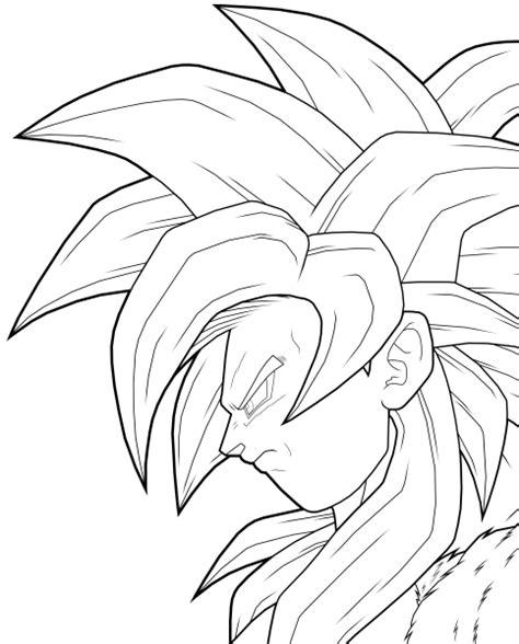 free dbz goku ssj3 coloring pages
