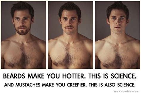 How To Find That Look Like You Science Explains Why A Beard Makes You Look Hotter Huffpost