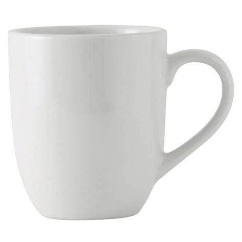 coffe mug tuxton bpm 160a duratux 16 oz bright white china mug 24