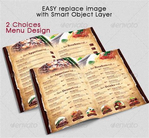 menu card templates cdr top 25 free paid restaurant menu templates