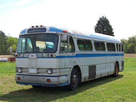 gmc busses 1957 gmc pd4104 for sale