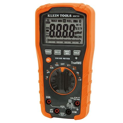 Multimeter Multimeter digital multimeter trms low impedance mm700 klein