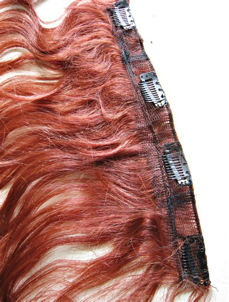 make clip in hair extensions how to make clip on hair extensions from a wig