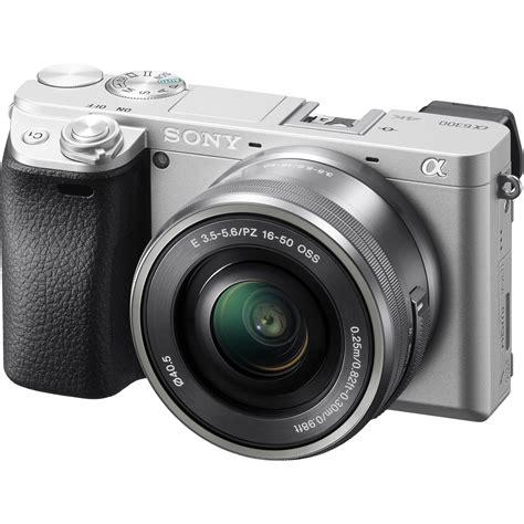 Sony Ilce A 6300 sony alpha a6300 mirrorless digital ilce 6300l s b h