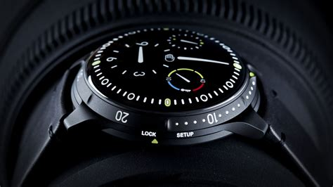 futuristic watches for muted