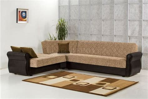 legend brown chenille modern sectional sofa w optional chair