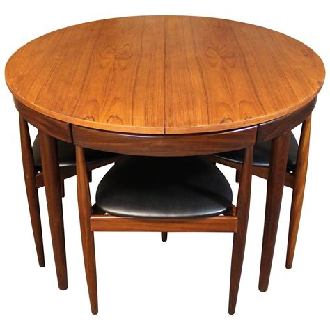 danish modern dining room set hans olsen teak roundette dining room set for frem rojle