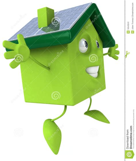 green house with solar panels stock image image 16543241