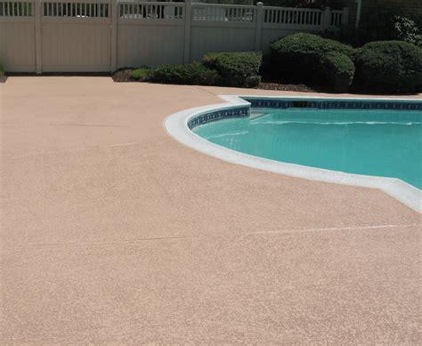 great ideas    concrete pool deck great ideas