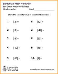 easy math problems for 8th graders www imgkid com the