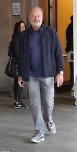 kelsey grammer navy kelsey grammer steps out for lunch with wife kayte and son