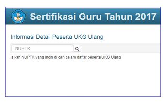 sertifikasi ulang bagi guru yang tidak linier info guru wajib tahu cara cek peserta ukg ulang 2 tahun 2017