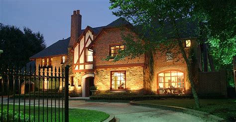 houston lighting design outdoor landscape lighting