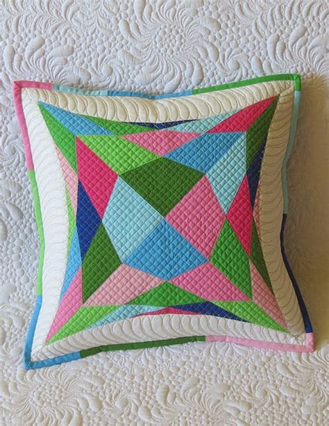 Pillows And Quilts by Quilted Pillow Pattern Geta S Quilting Studio