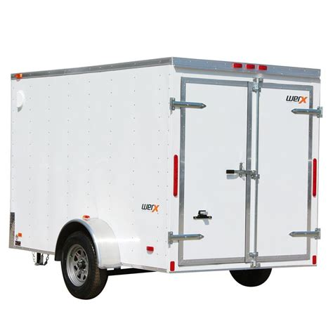 crown 2110 lb capacity 5 ft x 10 ft utility