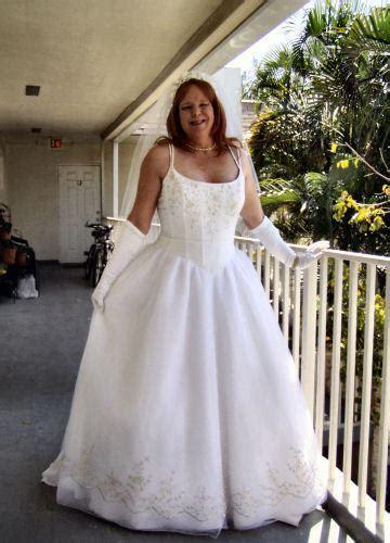 crossdresser wedding dress yvonne is a bridal crossdresser who collects the