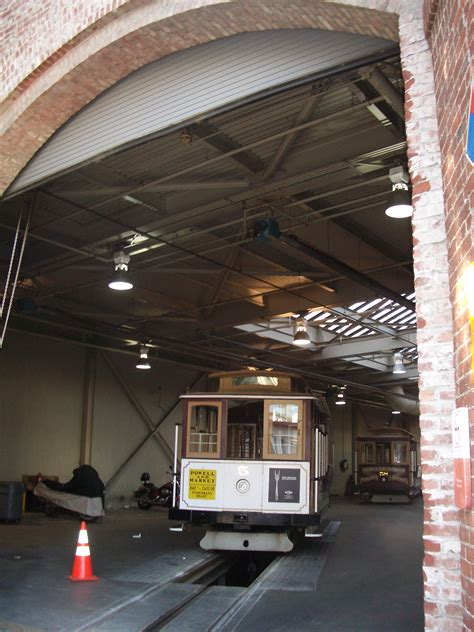 The Garage Sf by File A Garage For Cable Cars In San Francisco A