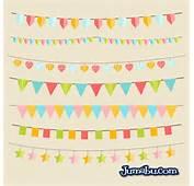 Banderines Fiesta Cumple Vectorespng