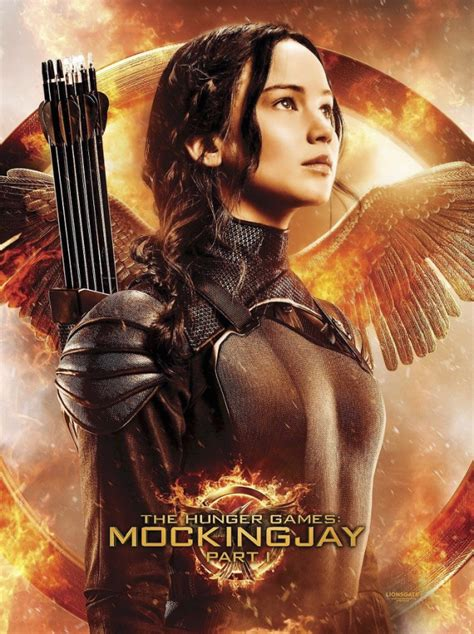 full version of the hunger games movie exclusive katniss poster with target s mockingjay part 1