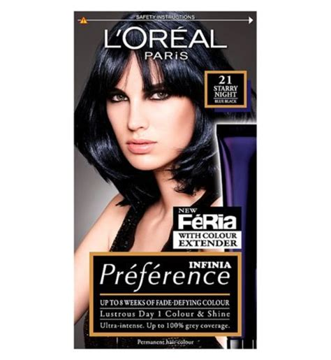 Loreal Blue Black 25 best ideas about blue black hair dye on