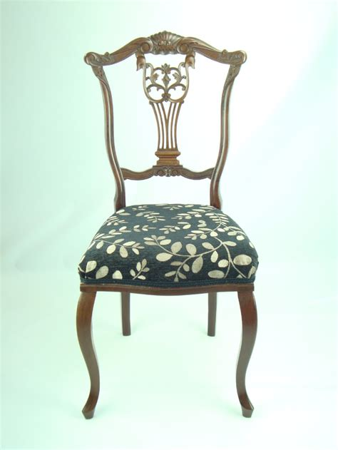 antique bedroom chairs antique edwardian carved bedroom chair 236132