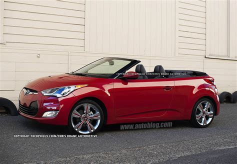 hyundai convertible hyundai veloster convertible rendering photo gallery