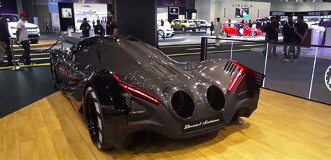 5000 Ps Auto by Devel Motors Brings 5 000 Hp Sixteen Hypercar Concept To