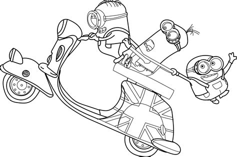 minions coloring pages king bob coloring pages of minions