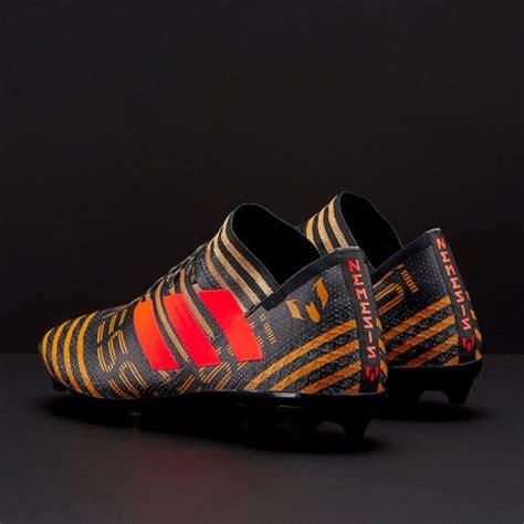 Sepatu Bola Adidas Nemeziz sepatu bola adidas original nemeziz messi 17 1 fg black solar tactile gold metallic