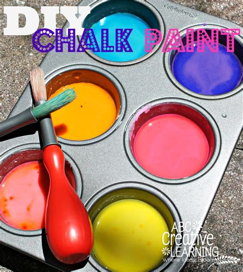 diy chalk paint outside diy outside chalk paint