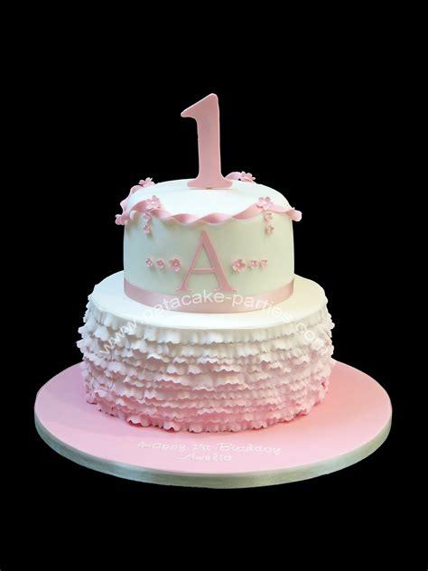 1st Birthday Cake by Girly 1st Birthday Cake Images