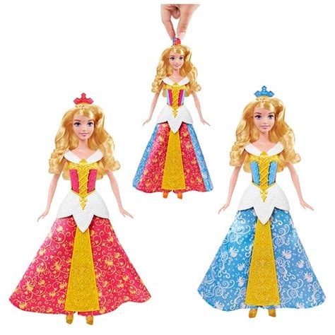 sleeping dress color change disney sleeping color changing doll mattel
