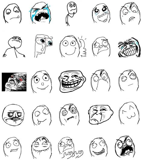Meme Comic Template - meme faces commadot com