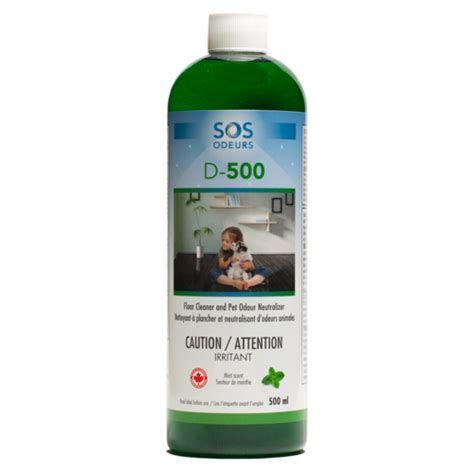 D 500   Cleaner and Pet Odour Neutralizer Product   SOS Odours