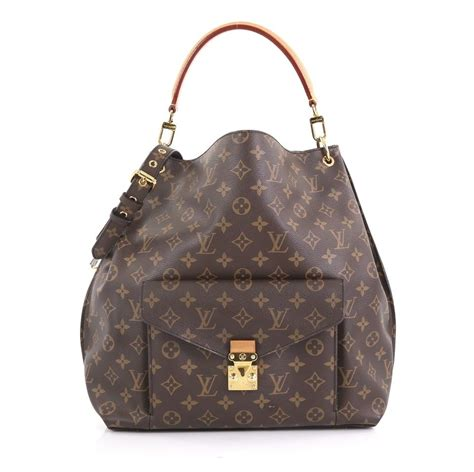 louis vuitton metis brown monogram canvas hobo bag tradesy