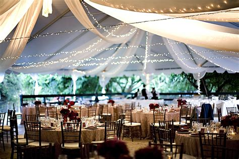 Outdoor Tent Lighting Ideas Rustic Country Wedding Ideas Decorating With Icicle Lights And Tulle Fabric