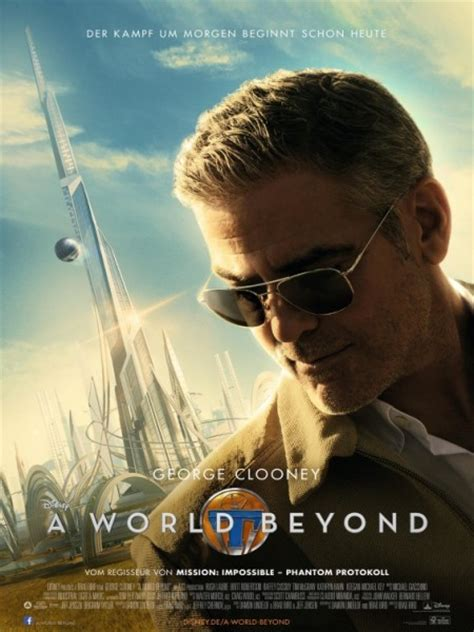 film disney george clooney george clooney adorns new foreign poster for disney s