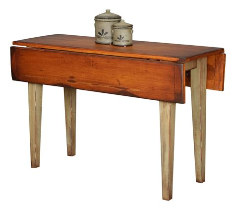 Drop Leaf Farm Table Narrow Country Farm Drop Leaf Table Farmhouse And Cottage