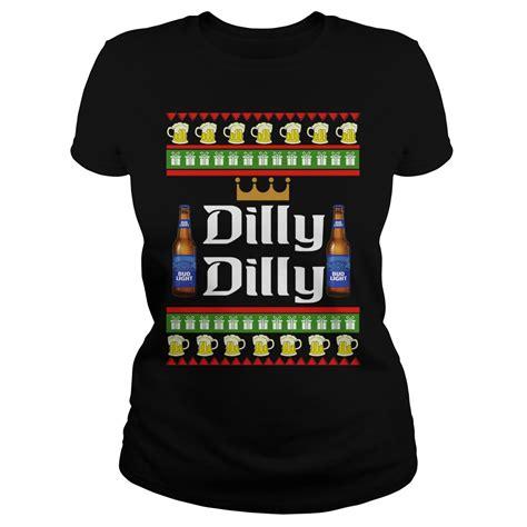 bud light sweater bud light dilly dilly sweater hoodie sweat shirt