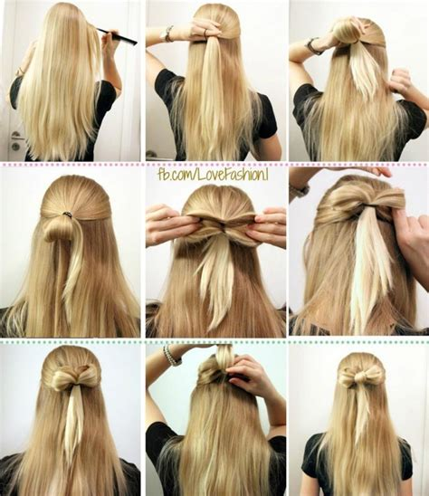 How To Make Hairstyles by How To Make A Bow Hairstyle