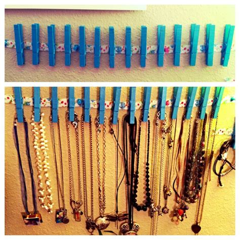 25 best ideas about diy necklace holder on