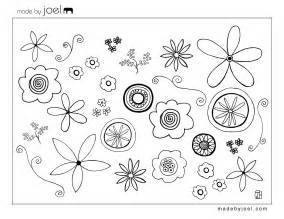 Free Flower Template Printable by Made By Joel 187 Made By Joel Flower Coloring Sheet Free
