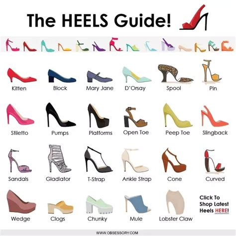 different kinds of high heels what of heels go with a gown dress